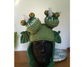 Double headed dragon hat