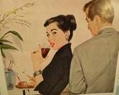 Pepsi  Advertisement McCall's Magazine Vintage 1950s
