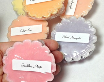 Wax Tarts, wax tart Sampler, wax melts, wax tart set, candles