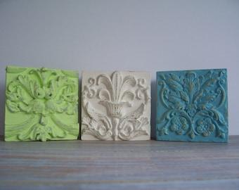 Fleur De Lis squares- Free Shipping