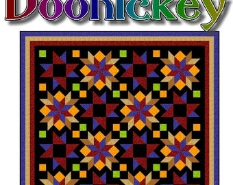 DOOHICKEY - Quilt-Addicts Patchwork Quilt Pattern