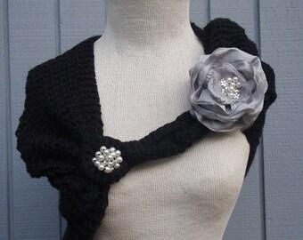 Wedding accessories, bridal accessories, wedding shawl, bridal shawl, black wedding gown, bridesmaid gift, wedding gown, bridesmaid gift