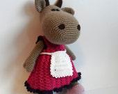Crochet Toy Pattern, Crochet Cow Pattern , Amigurumi Cow Pattern, Amigurumi Crochet COW Pattern, PDF Pattern