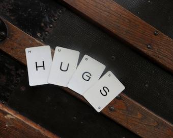 HUGS Vintage alphabet cards