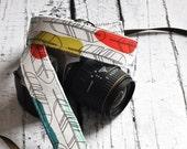 Feather Camera Strap - dSLR Camera Strap - Preppy Camera Strap - Summer Fashion