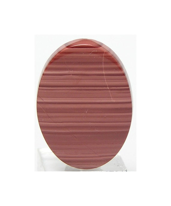 Imperfect Rose Imperial Jasper Stone calibrated Flat Back Oval Cabochon 30x22 mm