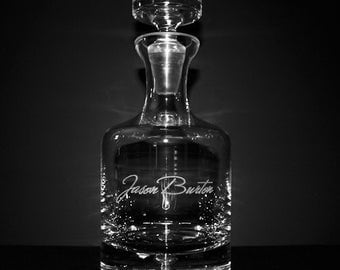Personalized Taylor Whiskey Decanter - Groomsmen Gift Ideas