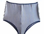 High waist bathing suit bottoms