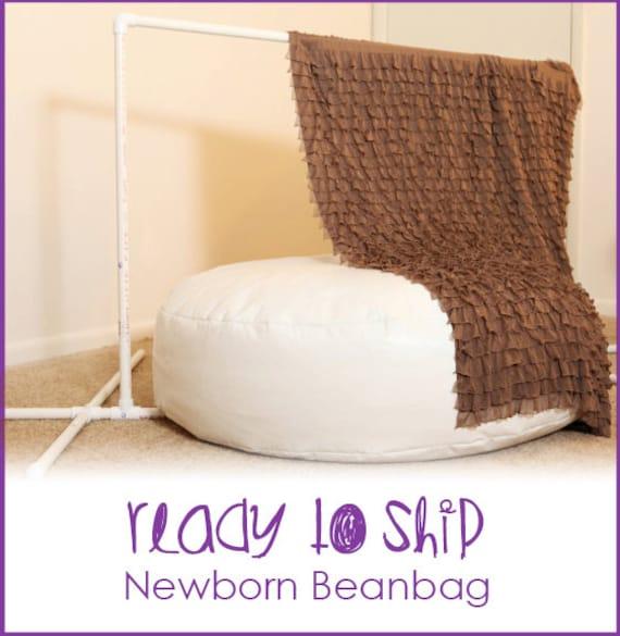 newborn posing bean bag ready to ship bean bag by