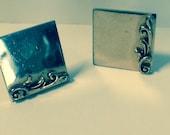 Vintage Set of Goldtone Cuff Links