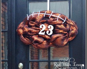 Football Wreath, Football, Football Decoration, Football Decor