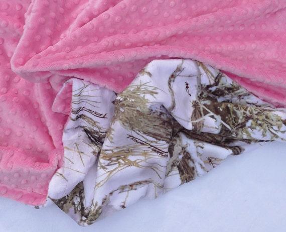 baby blanket true timber camouflage minky baby blanket