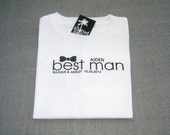 KIDS Best Man Black Bow Tie Wedding T-Shirt