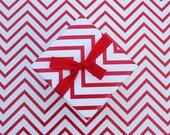 Chevron Paper Roll - Red /WhiteTarget Christmas Tree Gift Wrap - Potterbarn Catalog Gift Wrap -