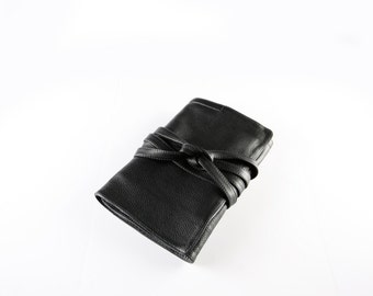 Professional Hair Stylist and Makeup Artist Tool Bag - Leather Tool Case Roll for Hairdressers