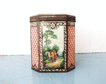 Danish Vintage Cookie Box