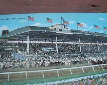 Postcard of Miami Jockey Club