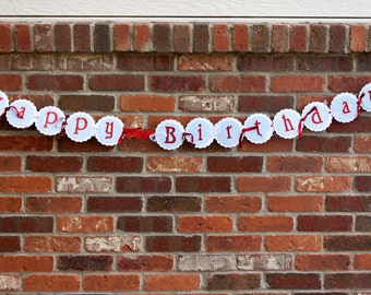 Wizard of Oz Birthday Banner, Dorothy Party Banner