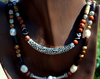 Beaded Necklace of Nature's Best