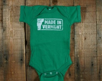 Made in Vermont Infant Bodysuit - Shortsleeve