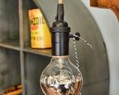Pendant Light - Minimalist Light - Bare Bulb Light  - Industrial Hanging Light - Lamp - Kitchen Light - Bar Light