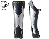 New legs armor greave in stainless steel. LE29