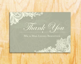 10 Easy Custom Thank You Cards- Maps- Wedding, Bridal Shower, Baby Shower, Automated, Customized, Maps, Thank You, Picture Cards