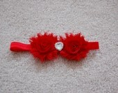Shabby Chic Valentine Headband