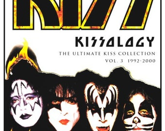 KISS KISSOLOGY DVD Stand-Up Display - Rock Band Documentary Music Video Collectibles Collection Collector Gift Memorabilia Frameable Retro