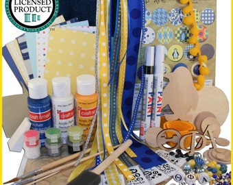 Theta Phi  Alpha Caft Supply Sack:  Everything you need to create heartfelt Sister gifts Licensed