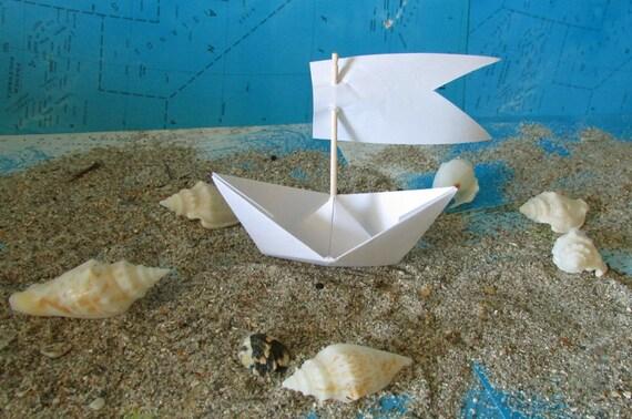 papier bateau origami d coration photo prop art offre beaucoup. Black Bedroom Furniture Sets. Home Design Ideas