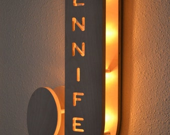 Marquee Lights – Kid Bedroom Lamp,  Letter Light, Personalized Name Light, Night Light, Personalized Family Name Sign, Kids Bedroom Lamp