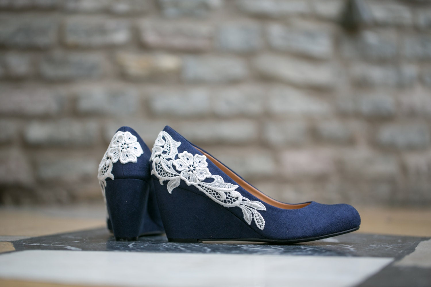 blue shoes wedding wedding shoesnavy blue wedgesbridal heelnavy wedgeblue 1945