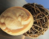Hen and Eggs French Milled Handcrafted Goat Milk Soap Gift for Backyard Chicken Lovers
