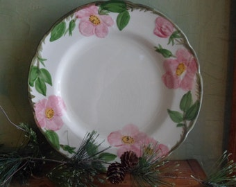 Franciscan Desert Rose Dinner Plate, Made in Usa