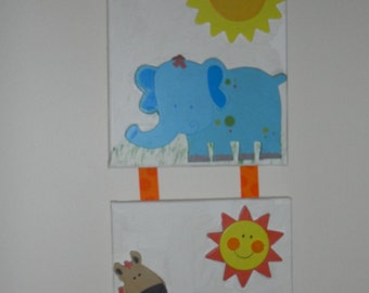 Beautiful cute wall hanging for your little one