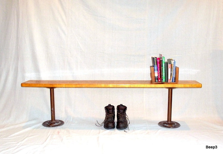 Take A Seat Vintage Bench Locker Room Wood And By Citybeepster