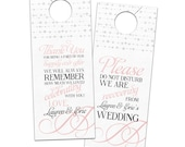 Reserved Listing for Melissa Holtham {Additional Door Hangers}
