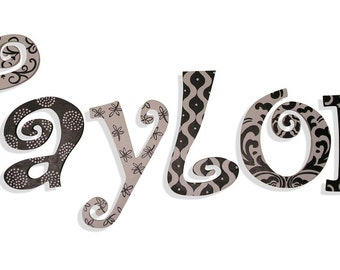 Wooden Letters Wall Decor Wall Letters Wooden Signs Letters for Nursery Wall Hanging Room Decor Nursery Letters Painted Letters Room Decor