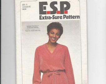 UNCUT Sewing Pattern Simplicity 8676 for Dress, Sz 14--16--18, 1970s