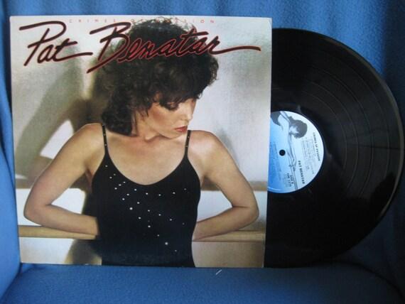 Vintage Pat Benatar Crimes Of Passion Vinyl Lp By