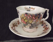 Royal Doulton Brambly Hedge Autum footed cup and saucer set