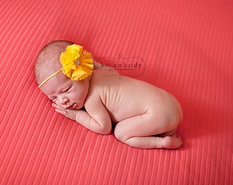 yellow headband..baby girls yellow headband..baby girl headbands..newborn headband..girls yellow headband