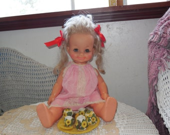 Ideal Bizzy Lizzy Doll  1971 :)S/SALE Use Coupon Code CLEARINGOUT25 Must Be used at check out can not change after paying for item