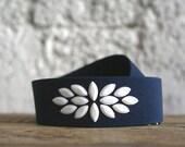 Navy blue belt, wide blue belt, waist belt, navy belt for cocktail dress, navy wedding belt, wide elastic belt, plus size belt, blue belt