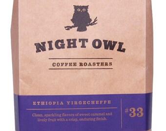 Ethiopia Yirgacheffe - Hand crafted coffee - 12 oz - medium roast - Portland, OR
