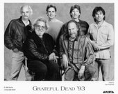 Grateful Dead Publicity Photo     8 by 10 inches