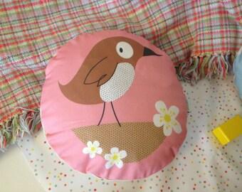 Quirky Birdy Cushion