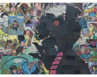 Gambit Rogue Print 11x17