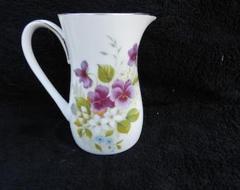 Vintage Creamer: Porcelain Hand Painted